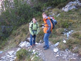 Klettersteig Ostegghütte : Tag zur ostegghütte